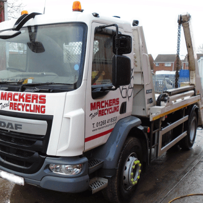 Mackers Skip Hire Lorry