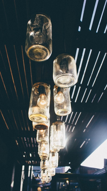 Jars Used For Lights